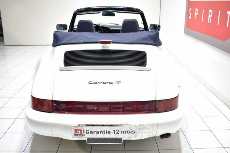 Porsche 964 Carrera 4 Cabriolet - <small></small> 54.900 € <small>TTC</small> - #6