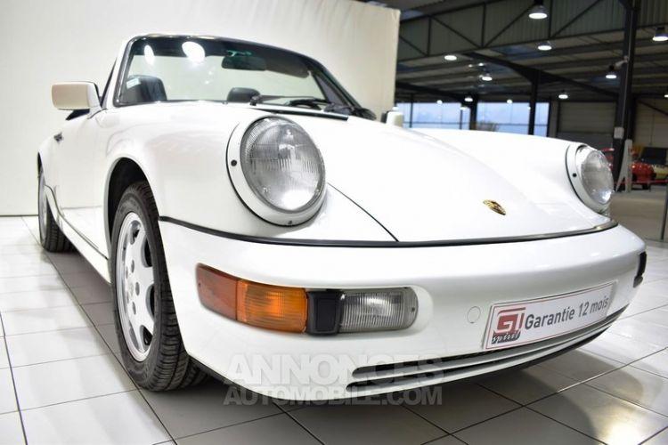 Porsche 964 Carrera 4 Cabriolet - <small></small> 54.900 € <small>TTC</small> - #11