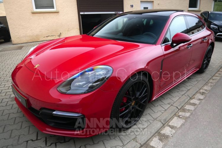 Porsche Panamera GTS Sport Turismo, ACC, Affichage tête haute, 360°, Roues AR directrices, BOSE, MALUS PAYÉ - <small></small> 119.890 € <small>TTC</small> - #1