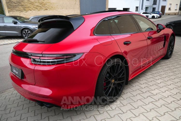 Porsche Panamera GTS Sport Turismo, ACC, Affichage tête haute, 360°, Roues AR directrices, BOSE, MALUS PAYÉ - <small></small> 119.890 € <small>TTC</small> - #3
