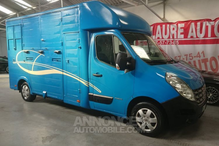 Renault Master Camion chevaux 2 places ! - <small></small> 24.900 € <small>TTC</small> - #1