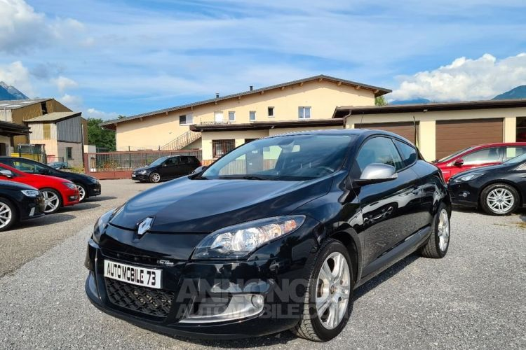 Renault Megane coupe 1.5 dci 110 gt line 04/2012 GPS SEMI CUIR BLUETOOTH - <small></small> 9.990 € <small>TTC</small> - #1