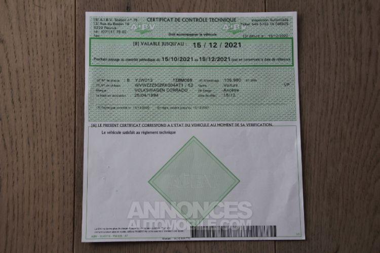 Volkswagen Corrado 16V - <small></small> 10.500 € <small>TTC</small> - #33