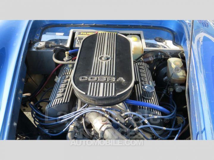 AC Cobra REPLICA V8 bleu metal Occasion - 8