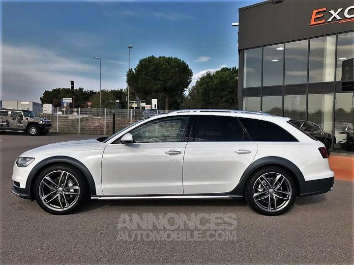 Audi A6 Allroad QUATTRO V6 BI TDI 320 TIPTRONIC AVUS BLANC VERNI Occasion - 3
