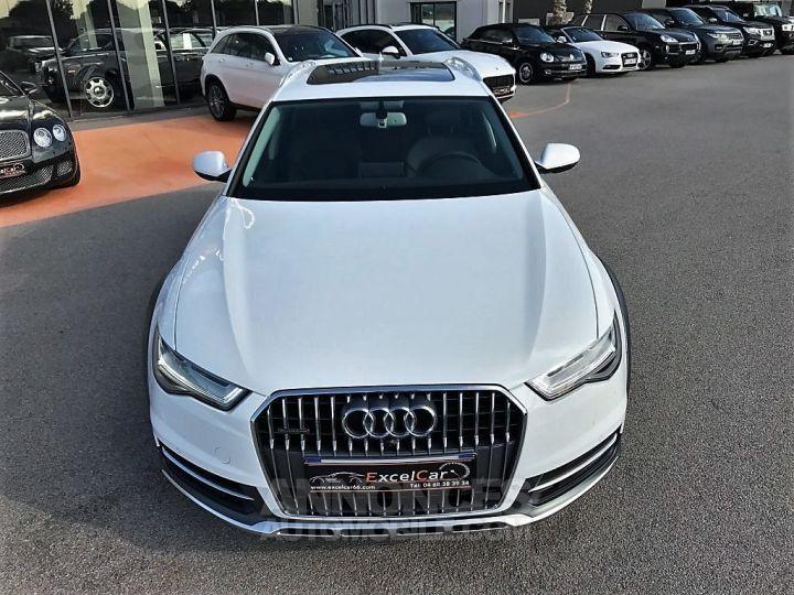 Audi A6 Allroad QUATTRO V6 BI TDI 320 TIPTRONIC AVUS BLANC VERNI Occasion - 4