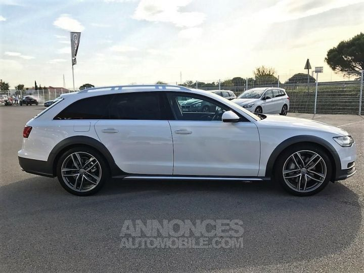 Audi A6 Allroad QUATTRO V6 BI TDI 320 TIPTRONIC AVUS BLANC VERNI Occasion - 6