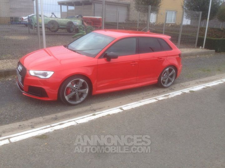Audi RS3 RS3 Rouge Occasion - 10