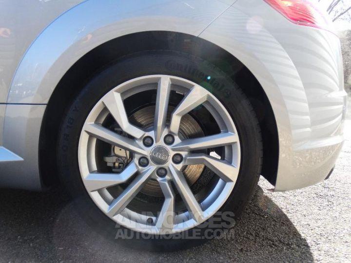 Audi TT Roadster 45 TFSI 245ch quattro S tronic 7 ARGENT FLEURET METAL Occasion - 13
