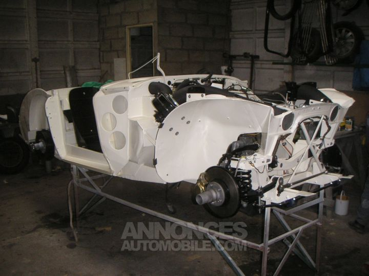 Austin Healey 3000 BJ8 MK3 old english white / Brun choco Occasion - 9