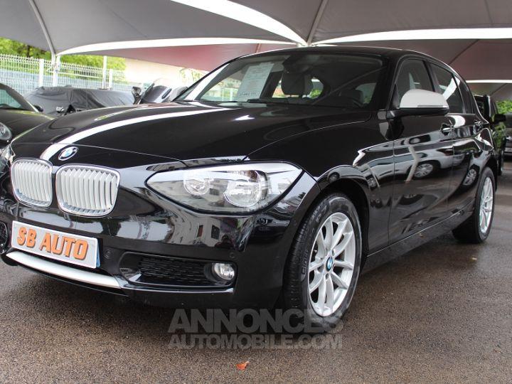 BMW Série 1 114D 95CH URBANLIFE 5P NOIR Occasion - 1
