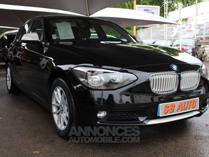 BMW Série 1 114D 95CH URBANLIFE 5P NOIR Occasion - 2