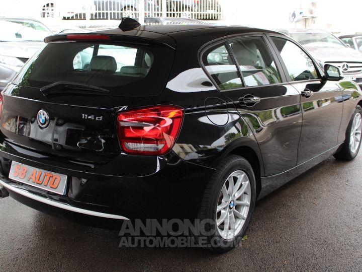 BMW Série 1 114D 95CH URBANLIFE 5P NOIR Occasion - 3