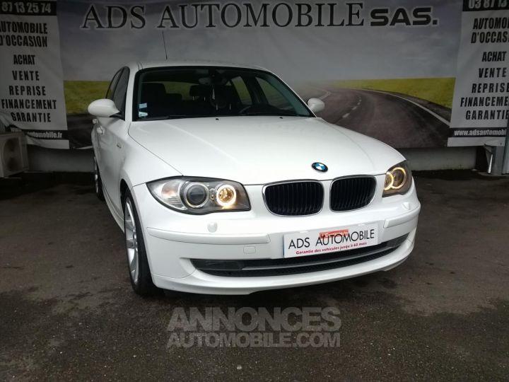 BMW Série 1 118D 143 CH Confort Blanc Occasion - 1
