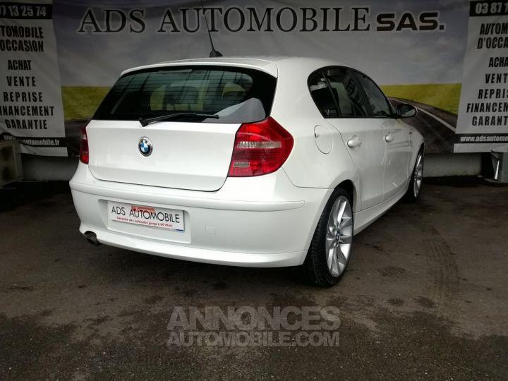 BMW Série 1 118D 143 CH Confort Blanc Occasion - 2