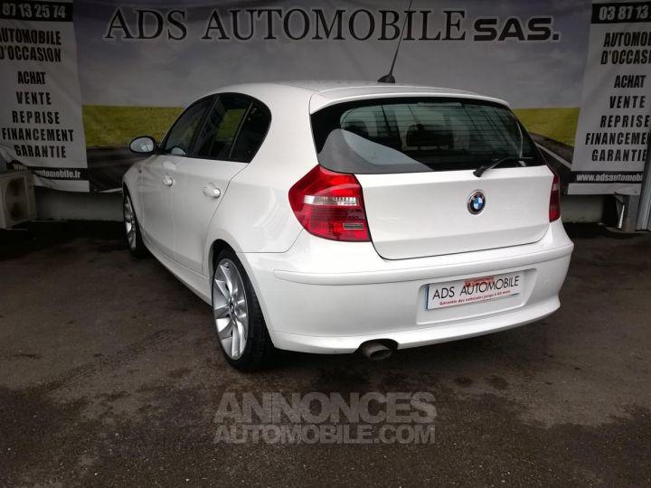 BMW Série 1 118D 143 CH Confort Blanc Occasion - 4