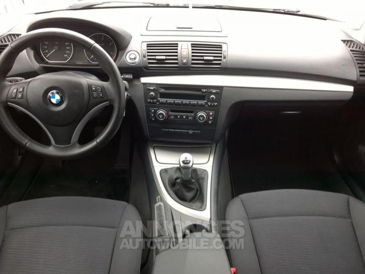 BMW Série 1 118D 143 CH Confort Blanc Occasion - 5