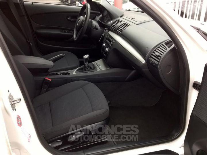 BMW Série 1 118D 143 CH Confort Blanc Occasion - 6