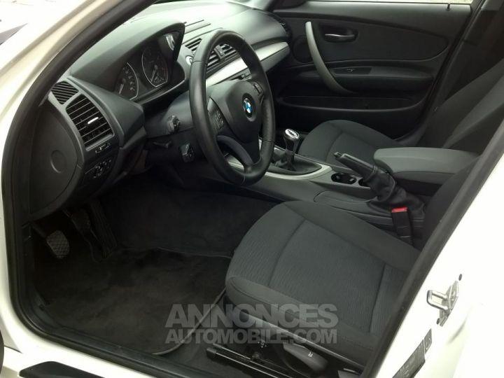 BMW Série 1 118D 143 CH Confort Blanc Occasion - 7
