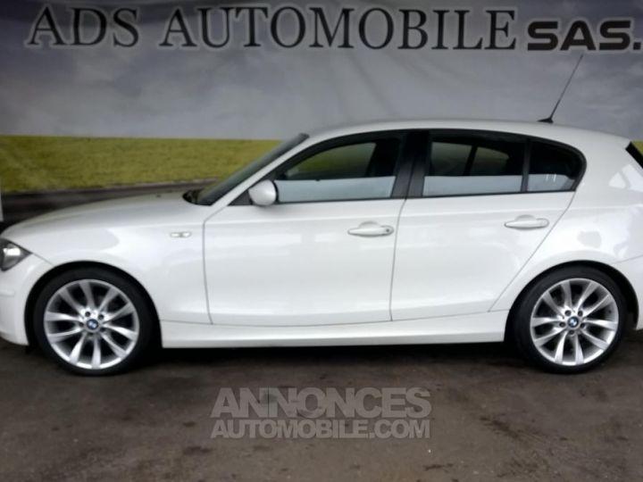 BMW Série 1 118D 143 CH Confort Blanc Occasion - 9