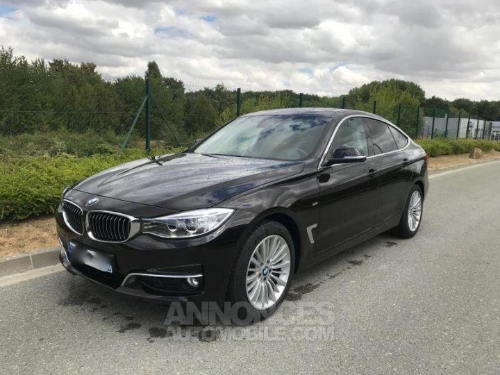 BMW Série 3 SERIE 3 GT F34 320D XDRIVE 184 LUXURY BVA8 Noir Occasion - 1