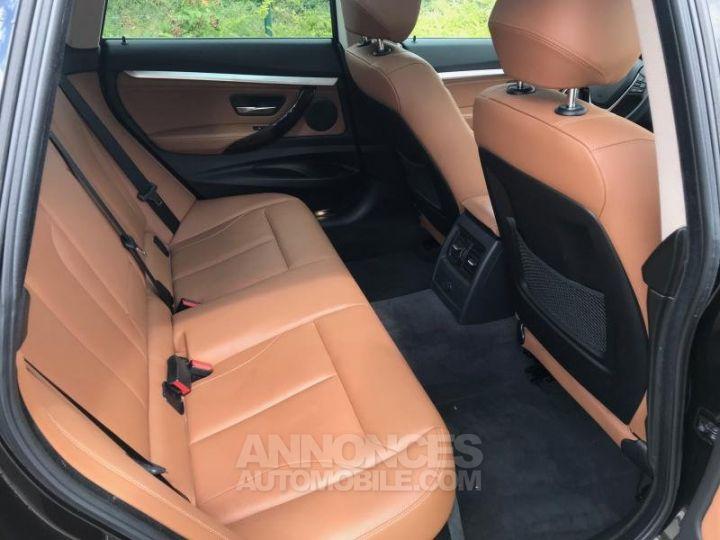 BMW Série 3 SERIE 3 GT F34 320D XDRIVE 184 LUXURY BVA8 Noir Occasion - 12