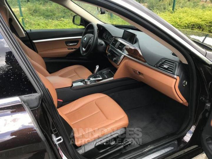 BMW Série 3 SERIE 3 GT F34 320D XDRIVE 184 LUXURY BVA8 Noir Occasion - 13