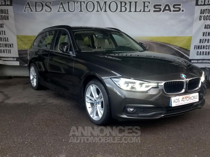 BMW Série 3 Touring 318D 150 CH Techno Design A Marron Occasion - 1