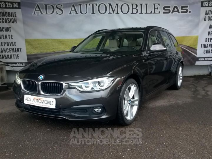 BMW Série 3 Touring 318D 150 CH Techno Design A Marron Occasion - 3