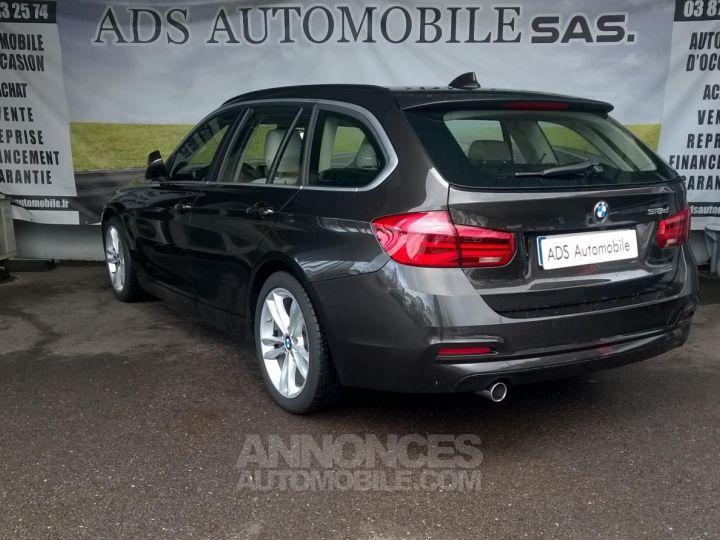 BMW Série 3 Touring 318D 150 CH Techno Design A Marron Occasion - 4