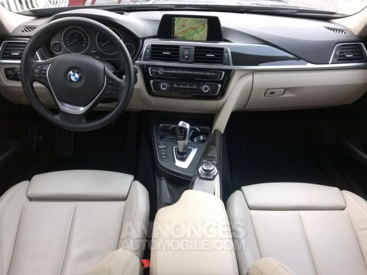 BMW Série 3 Touring 318D 150 CH Techno Design A Marron Occasion - 5