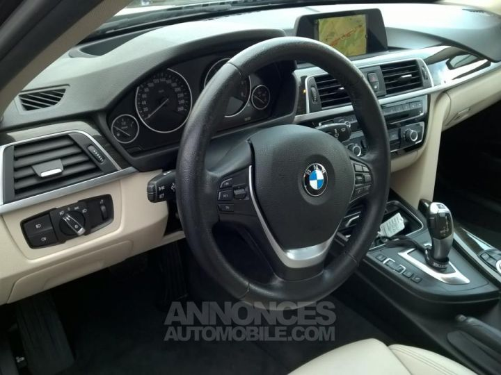 BMW Série 3 Touring 318D 150 CH Techno Design A Marron Occasion - 8