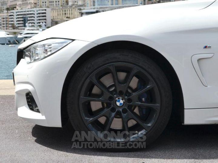 BMW Série 4 440iA xDrive 326ch M Sport Blanc Occasion - 7
