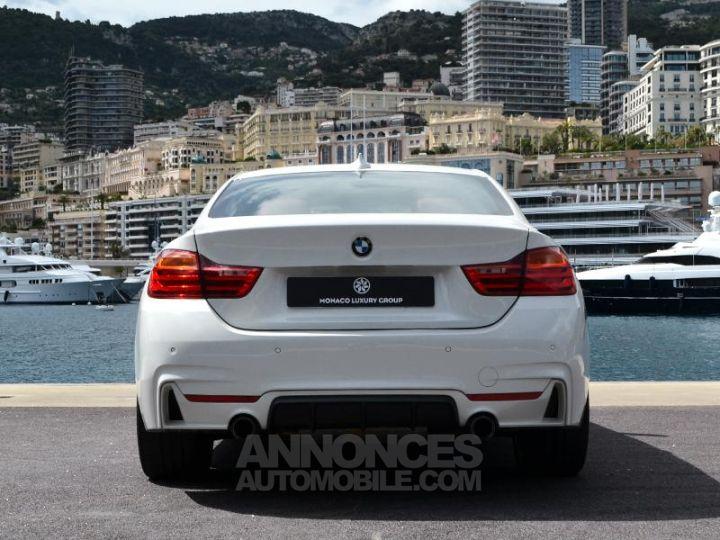 BMW Série 4 440iA xDrive 326ch M Sport Blanc Occasion - 10