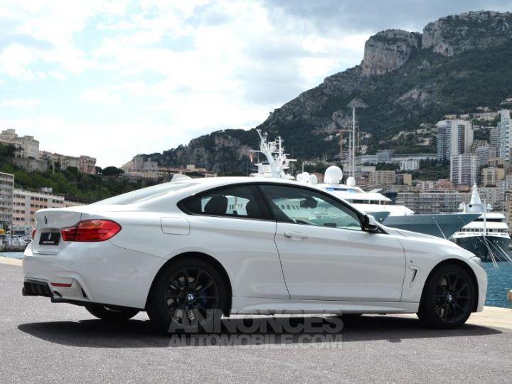 BMW Série 4 440iA xDrive 326ch M Sport Blanc Occasion - 11