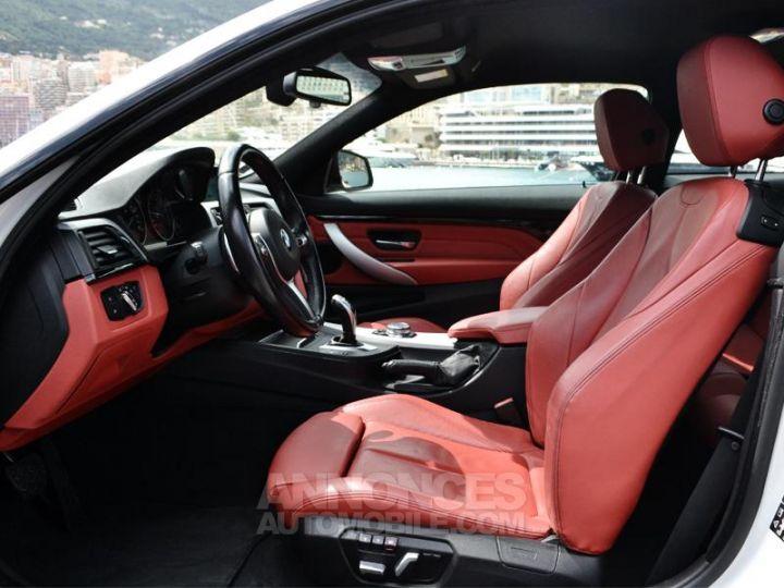 BMW Série 4 440iA xDrive 326ch M Sport Blanc Occasion - 19