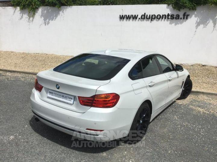 BMW Série 4 Gran Coupe 420dA 184ch Sport BLANC Occasion - 2