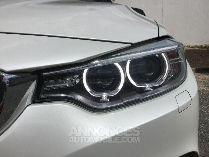 BMW Série 4 Gran Coupe 420dA 184ch Sport BLANC Occasion - 10
