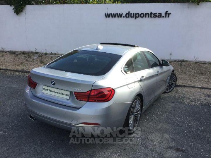 BMW Série 4 Gran Coupe 420dA 190ch Luxury GRIS C Occasion - 2