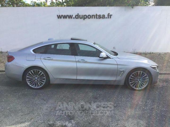 BMW Série 4 Gran Coupe 420dA 190ch Luxury GRIS C Occasion - 11