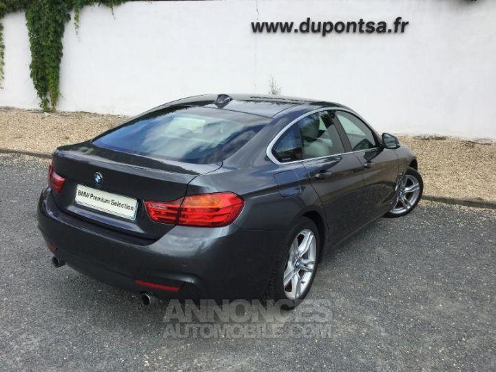 BMW Série 4 Gran Coupe 435iA xDrive 306ch M Sport GRIS F Occasion - 2