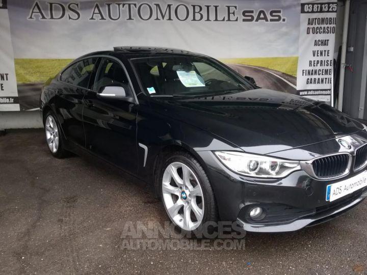 BMW Série 4 Gran Coupe GRAN COUPé 420D XDRIVE Noir Occasion - 1