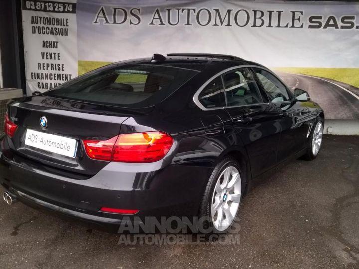 BMW Série 4 Gran Coupe GRAN COUPé 420D XDRIVE Noir Occasion - 2