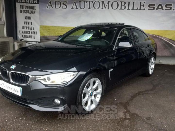 BMW Série 4 Gran Coupe GRAN COUPé 420D XDRIVE Noir Occasion - 3
