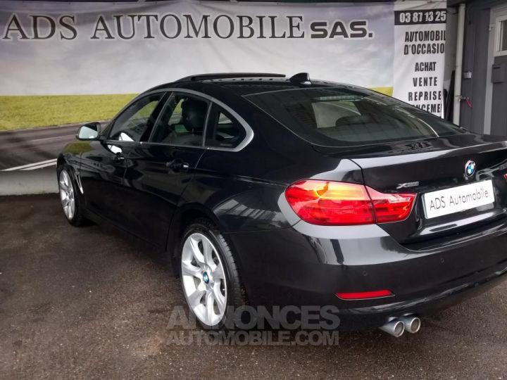 BMW Série 4 Gran Coupe GRAN COUPé 420D XDRIVE Noir Occasion - 4