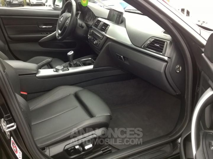 BMW Série 4 Gran Coupe GRAN COUPé 420D XDRIVE Noir Occasion - 6