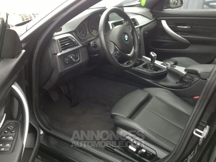 BMW Série 4 Gran Coupe GRAN COUPé 420D XDRIVE Noir Occasion - 7