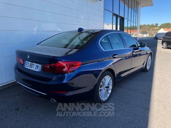 BMW Série 5 520dA xDrive 190ch Luxury Mediterranblau metallise Occasion - 5