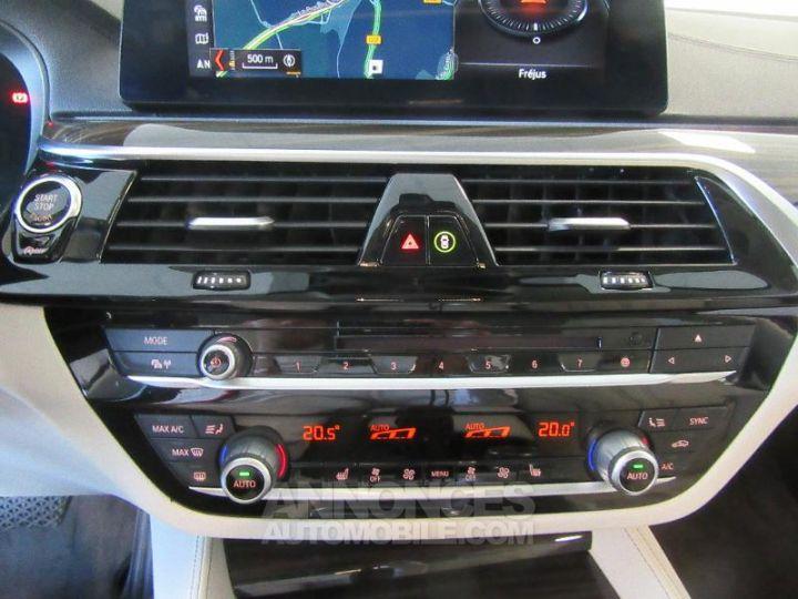 BMW Série 5 520dA xDrive 190ch Luxury Mediterranblau metallise Occasion - 7
