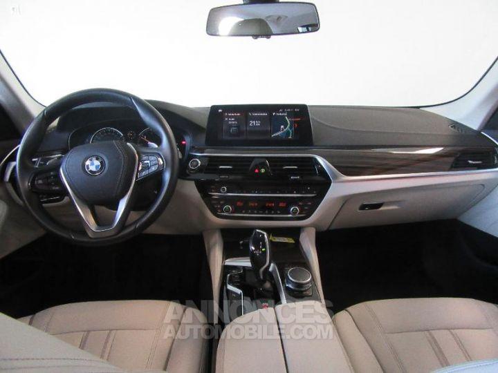 BMW Série 5 520dA xDrive 190ch Luxury Mediterranblau metallise Occasion - 8